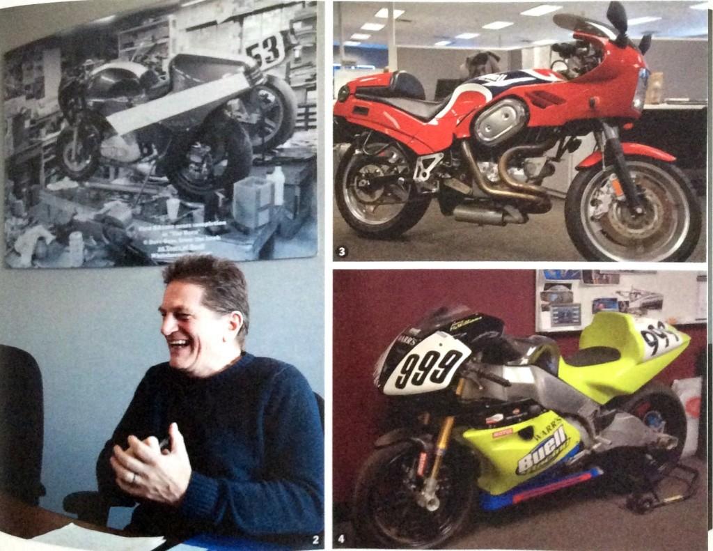 café racer garages (HS n°5) : interview d'E Buell et atelier Ebr12