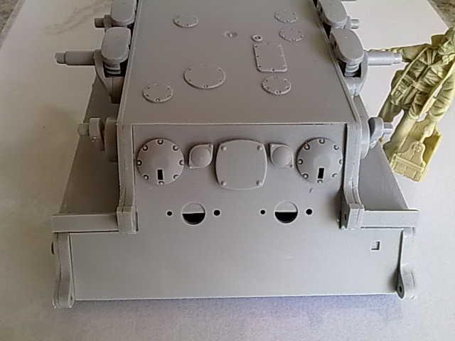 7,5cm Doppelflakturm auf E100 Ausf.A 03062013