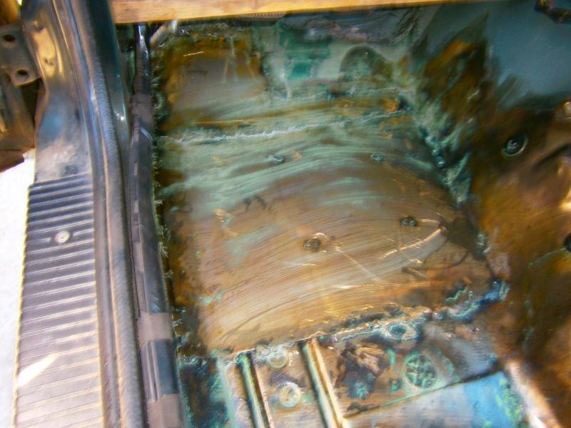 remise en état plancher xj P6190011