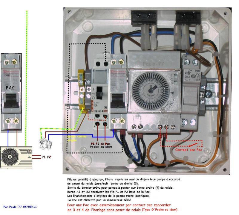 """Module Z-wave pour """"domotiser"""" sa pompe de filtration et PAC Tablea10"""