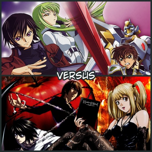 [VERSUS] Code Geass VS Death Note 0210