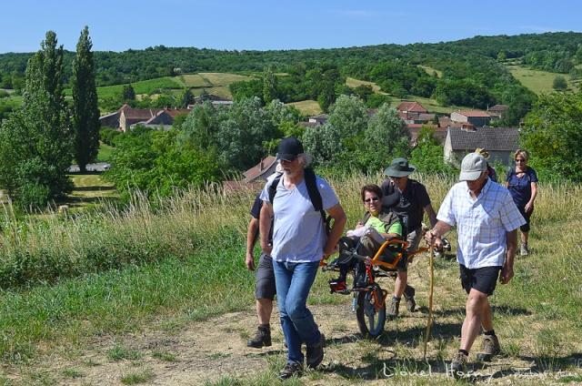 Randicap Solidaire 71 sur le Chemin des Cadeules Dsc_0018