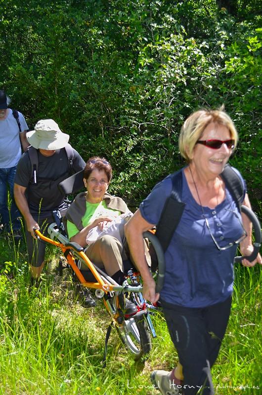 Randicap Solidaire 71 sur le Chemin des Cadeules Dsc_0023