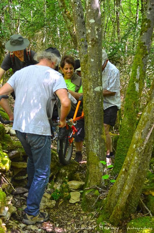 Randicap Solidaire 71 sur le Chemin des Cadeules Dsc_0025