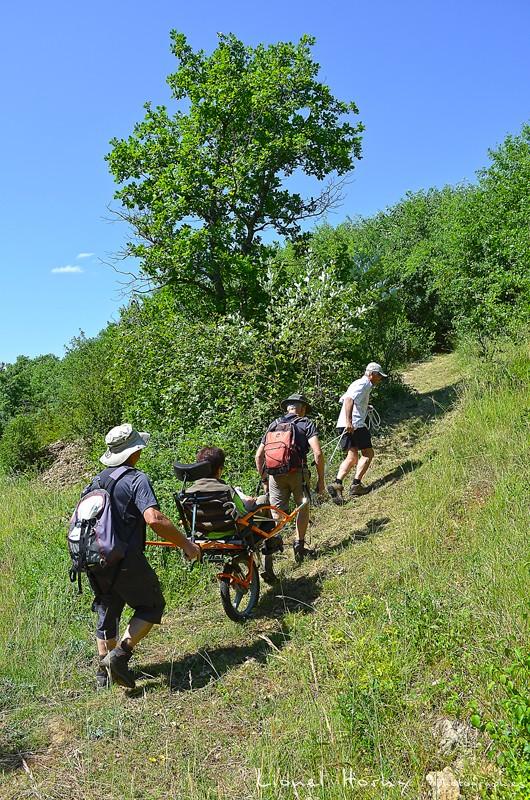 Randicap Solidaire 71 sur le Chemin des Cadeules Dsc_0032