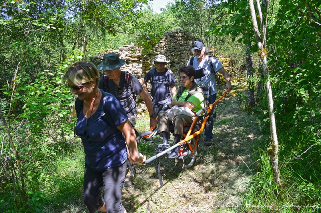 Randicap Solidaire 71 sur le Chemin des Cadeules Dsc_0036