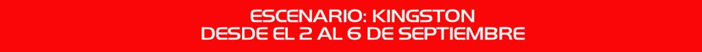 SECOND ROUND/SEGUNDA RONDA: 1/4 FINAL Fechas10