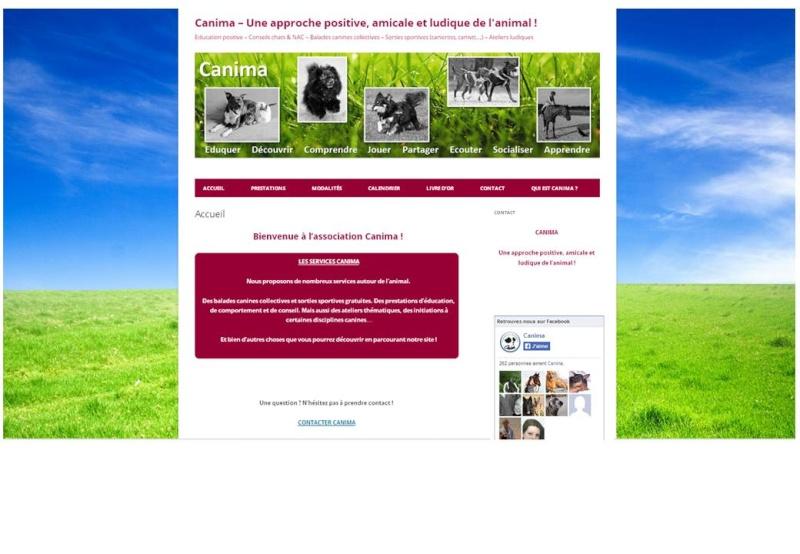 Création de l'association Canima pas à pas ! Site10