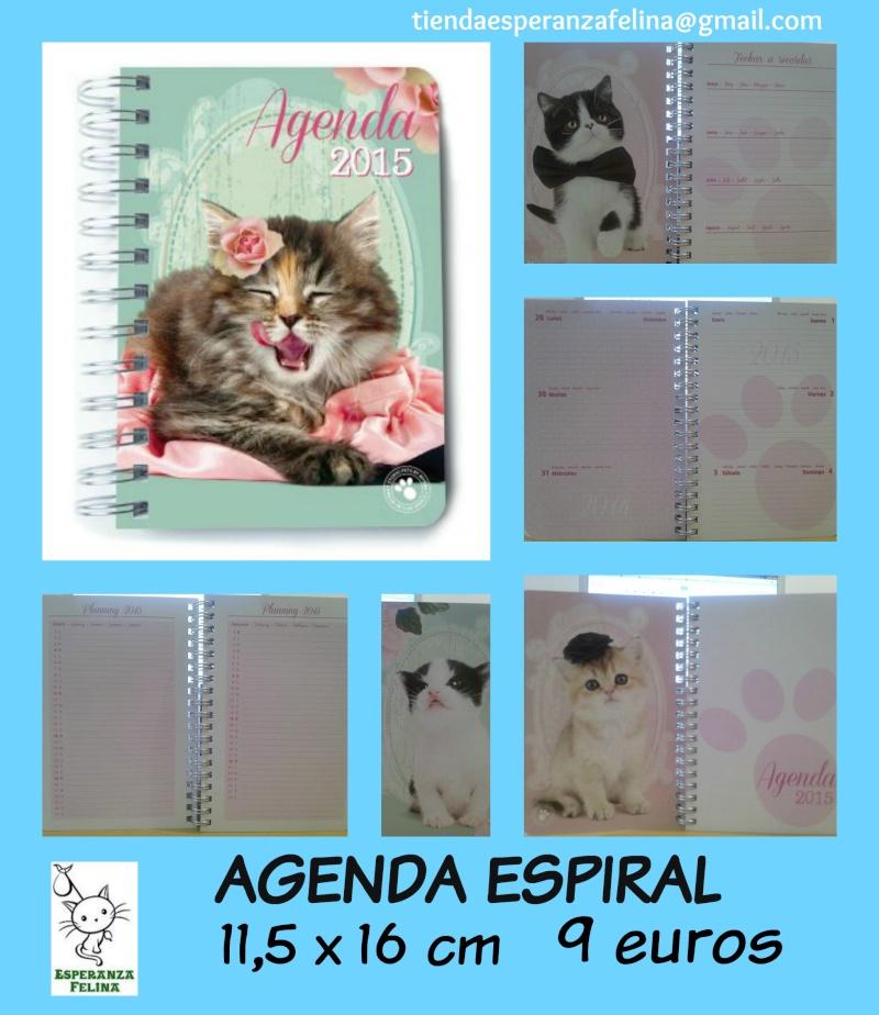 Productos 2015: Agendas, agendas espiral, calendarios, libretas... Agenda10