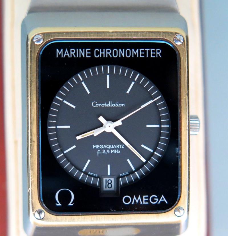 Ma dernière acquisition une Omega Marine Chronometer Mc00110