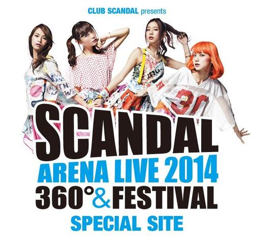 SCANDAL ARENA LIVE 2014 Tumblr11