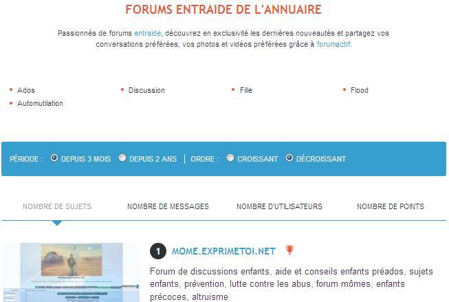 mome.exprimetoi.net classé 1ER forum entraide ados  Numero10
