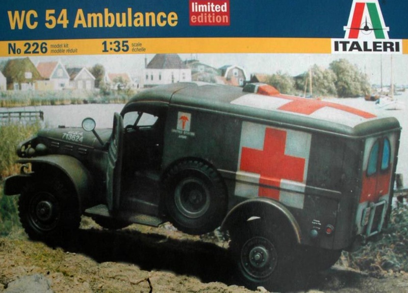 Dodge WC54 Ambulance  -Διόραμα 1/35 Am_00110