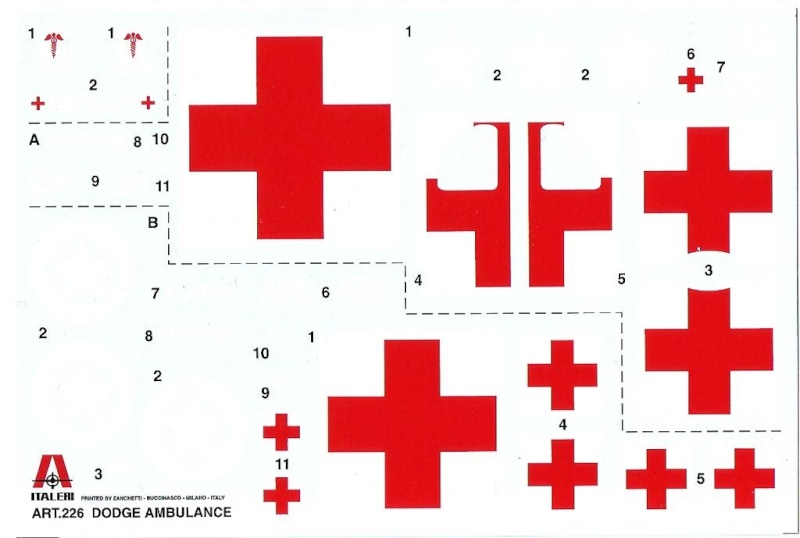 Dodge WC54 Ambulance  -Διόραμα 1/35 Am_01010