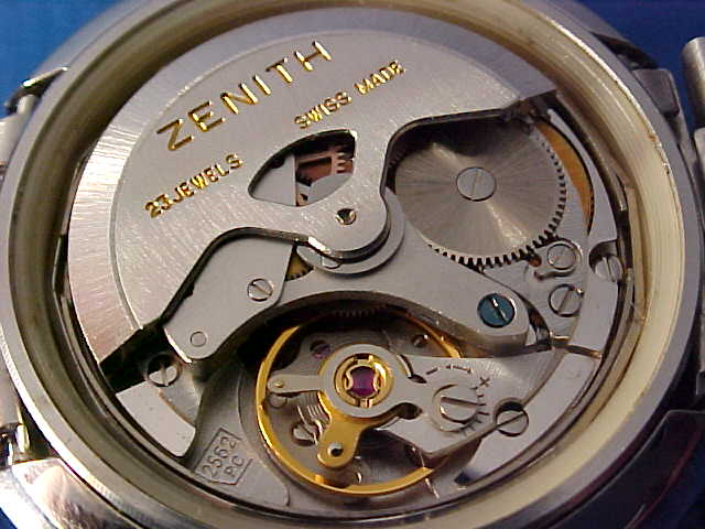 Mouvement Zenith 2562pc Jewelry & Watches