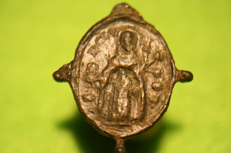 Médaille ND-du-Rosaire & St Dominique Guzman - XVIIème Img_8027
