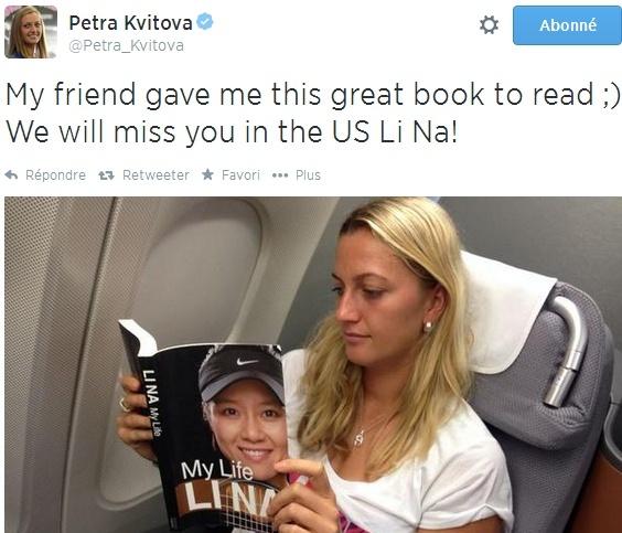 PETRA KVITOVA (Tchèque) - Page 2 Tweet215