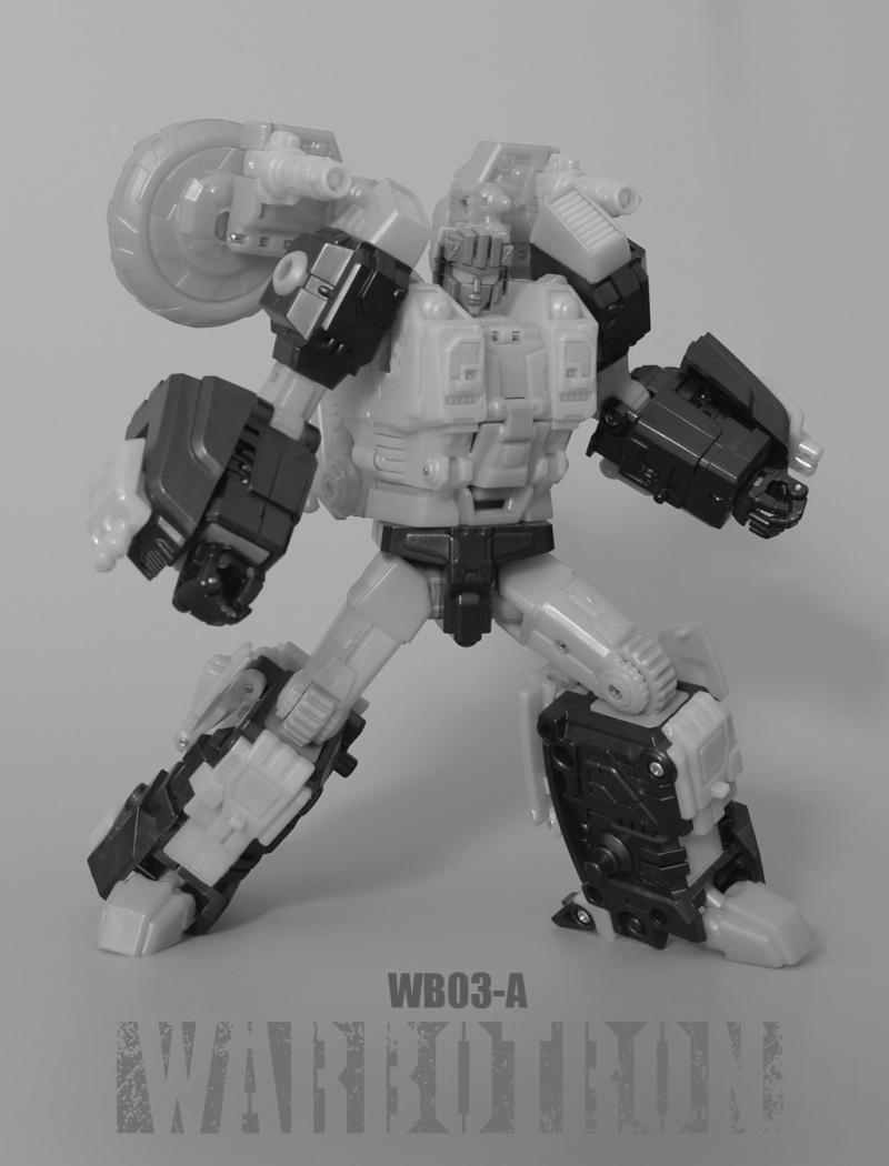 [Warbotron] Produit Tiers - Jouet WB03 aka Computron Wb03-a12