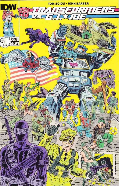 Nouveau  comic crossover TRANSFORMERS  VS GI JOE Comic_10
