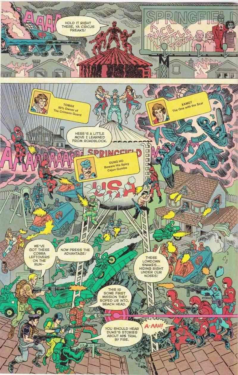 Nouveau  comic crossover TRANSFORMERS  VS GI JOE Comic_11