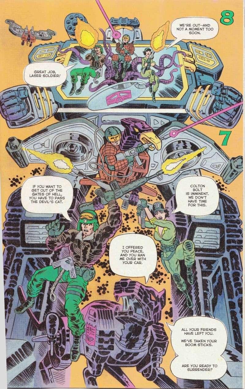 Nouveau  comic crossover TRANSFORMERS  VS GI JOE Comic_13