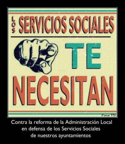 La nueva Ley de racionalización y sostenibilidad de la Administración local - Reforma de los Servicios Sociales Municipales Tenece11