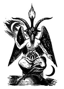 Le Tétragramme divin Baphom11