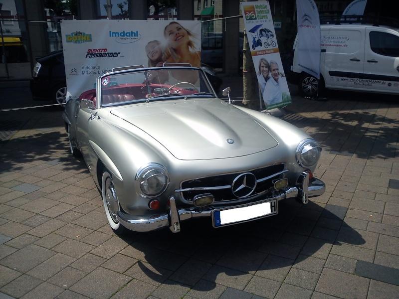 Mercedes Benz 190 SL Dsc00215