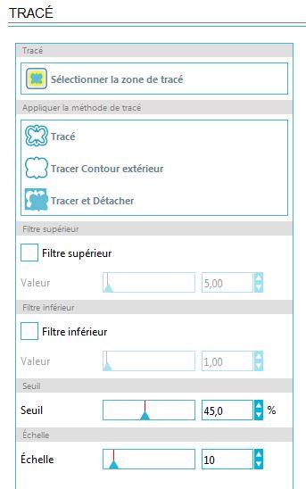 18 - Comment paramétrer les filtres pour une vectorisation automatique ? Captur53