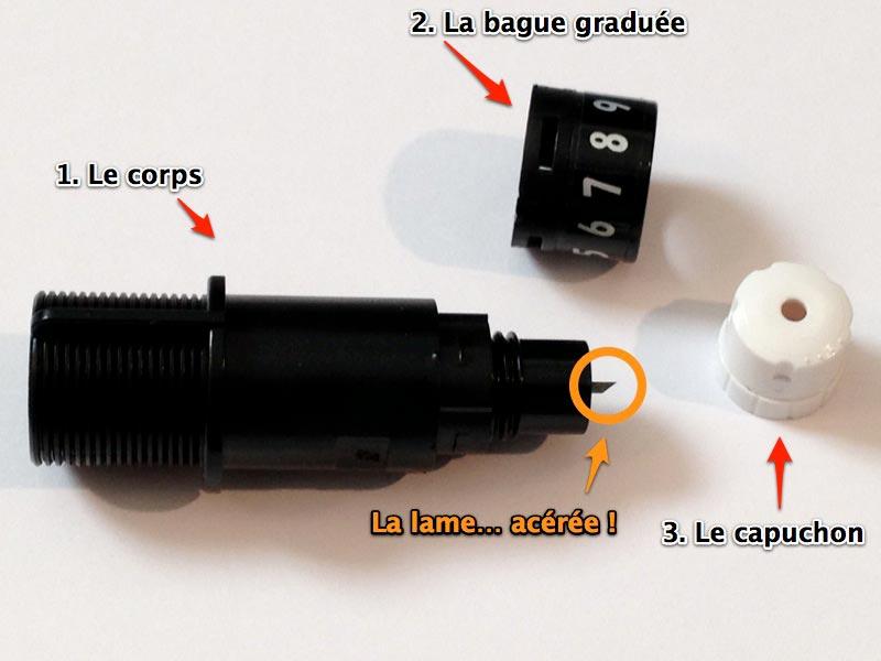 06 - Comment démonter et nettoyer la lame ? Demont11