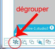"""09 - Différence entre """"grouper/dégrouper"""" et """"créer/scinder tracé composite"""" Dygrou10"""