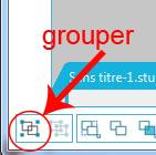 """09 - Différence entre """"grouper/dégrouper"""" et """"créer/scinder tracé composite"""" Groupe10"""
