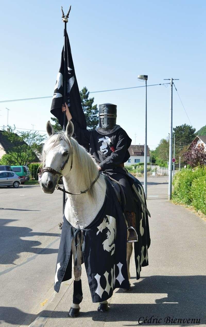 fête des chevaliers à Chatenois (67) Aude10