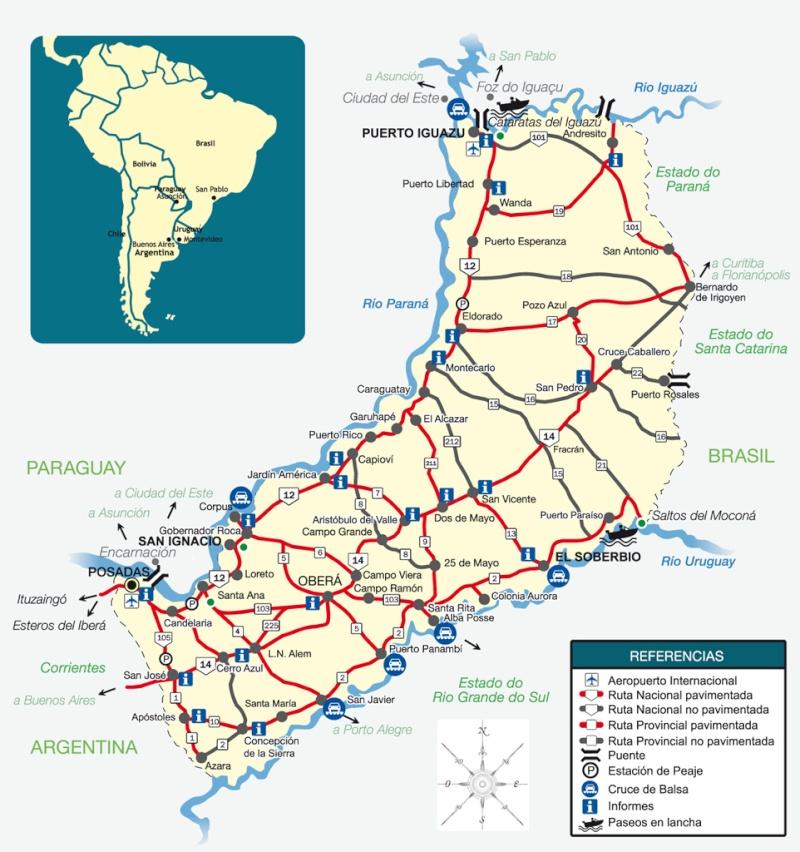 Mi viaje por Argentina - noviembre 2013 Mapa-m10