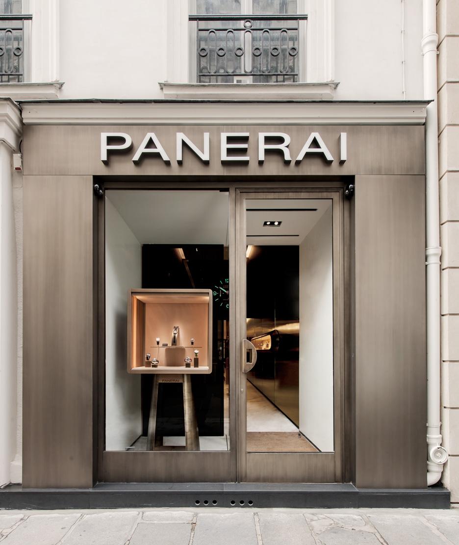 Communiqué de Presse : OFFICINE PANERAI OUVRE A PARIS LA PREMIERE BOUTIQUE SIGNEE PATRICIA URQUIOLA Panera11