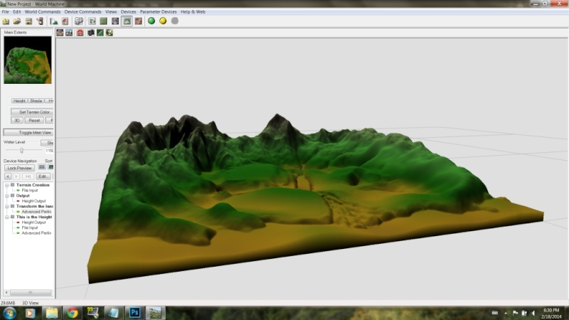 Procedural Generation of Terrain Discussion and Tips: Two Tutorials Posted 4_rfte10