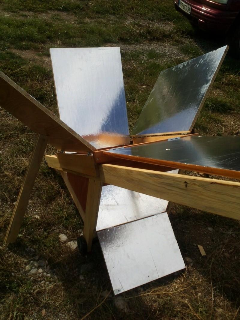 le soleil...ça chauffe, realisation four solaire Img21015