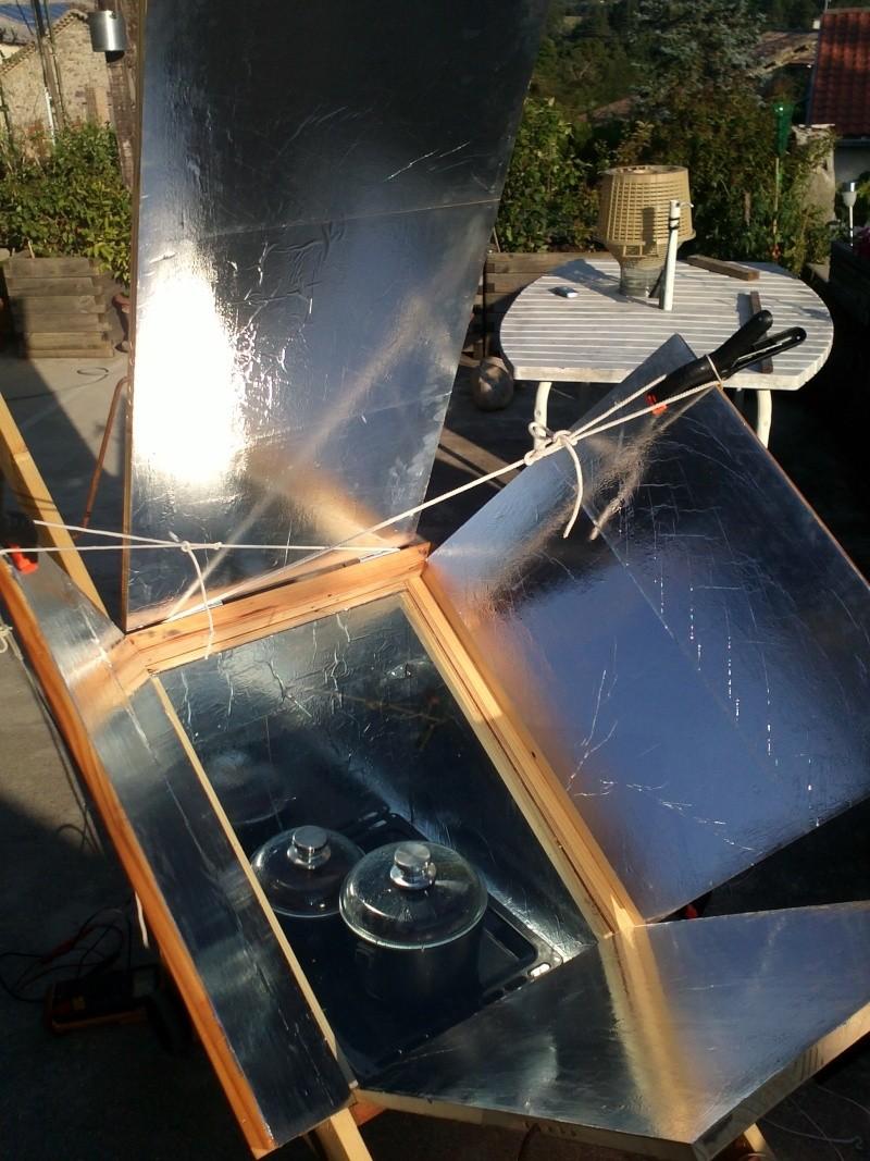 le soleil...ça chauffe, realisation four solaire Img21515