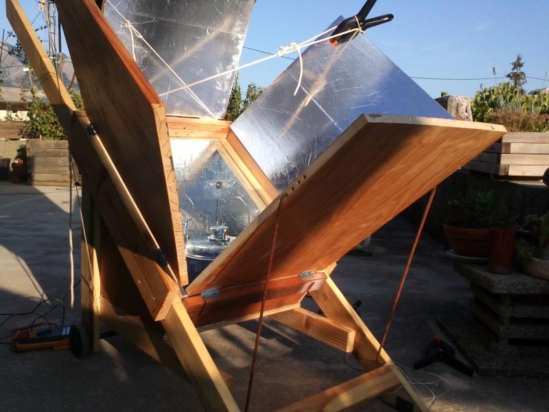 le soleil...ça chauffe, realisation four solaire Img21516