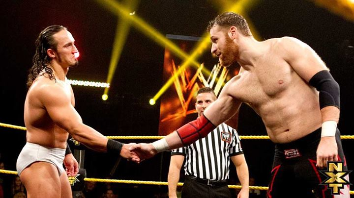 La carte possible pour le prochain Special Episode de NXT Zayn-n11