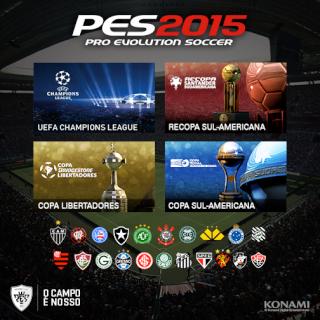 PES XBOX BRASIL  PES 2015 - CAPA 19722910