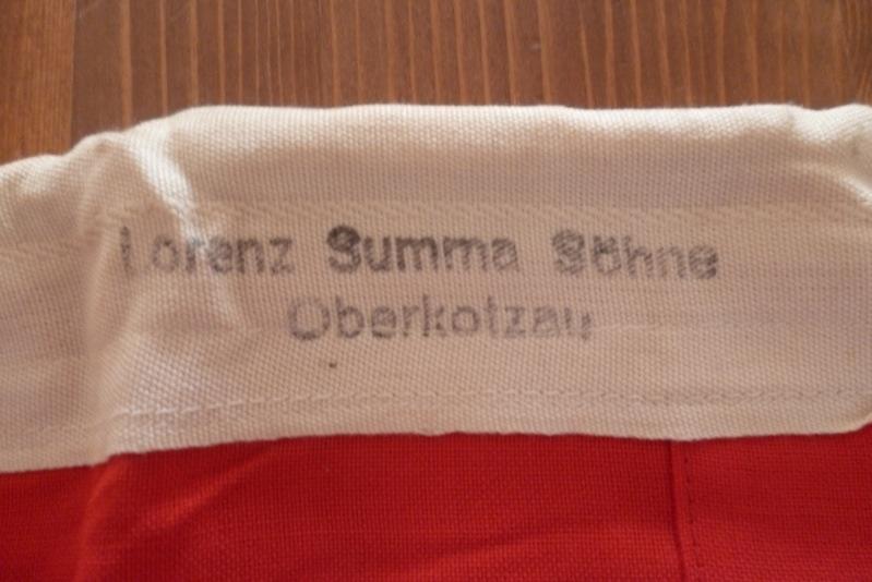 Reichskriegs flag (0,80 x 0,135) - Plutzar & Brüll K.G.Bielitz O/S. Image11