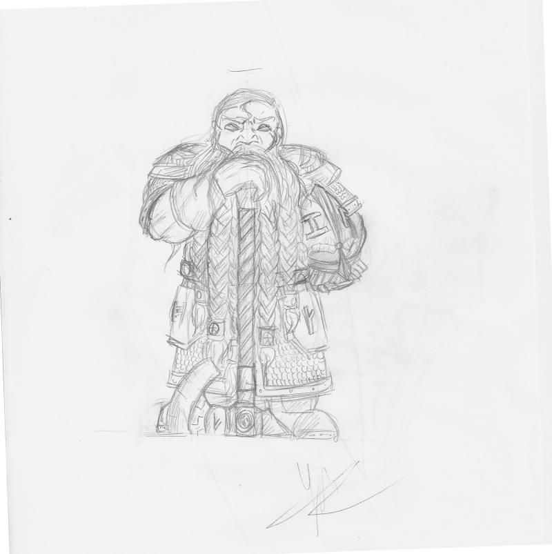 Les dessins de Gromdal - Page 2 Dwarf_14