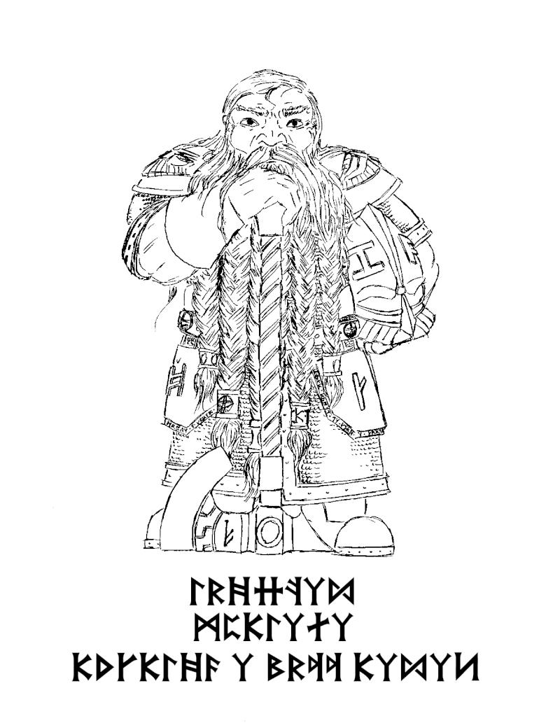 Les dessins de Gromdal - Page 2 Dwarf_15