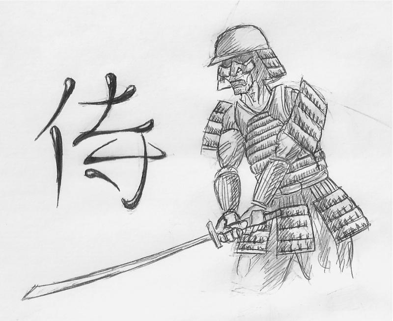 [Dess] Reprise du crayon (car vacances !) Samura10