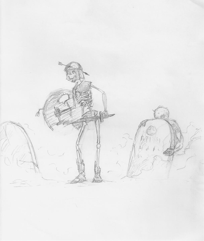 [Dessin] Les dessins de Gromdal Zombie10