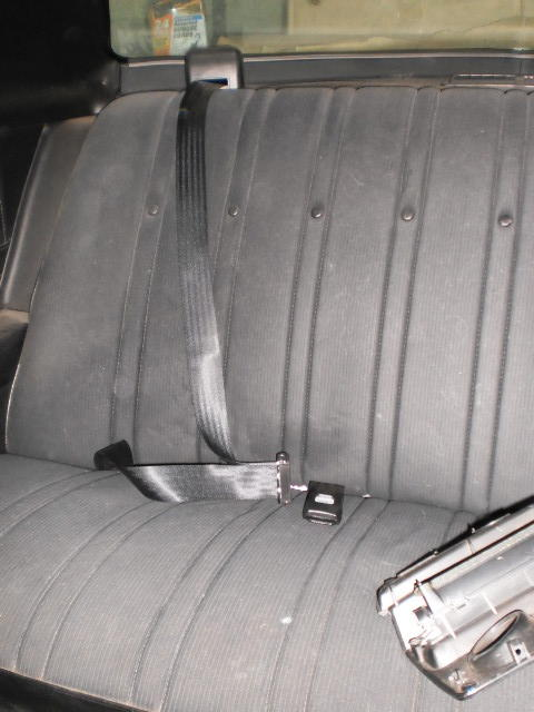 73 Monte seat belt update Seatbe12