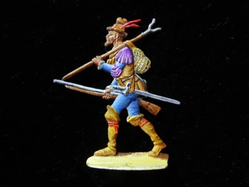 Soldats conquistadors espagnols de 1520 F049_w11