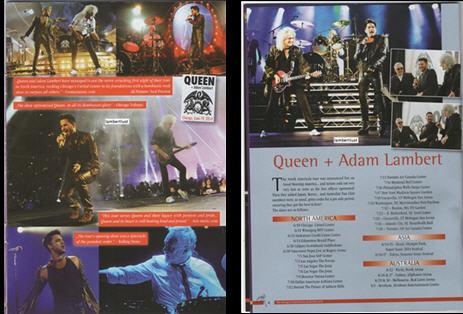 Adam Lambert Daily News & Information B10