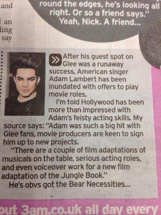 Adam Lambert Daily News & Information Bafktt10